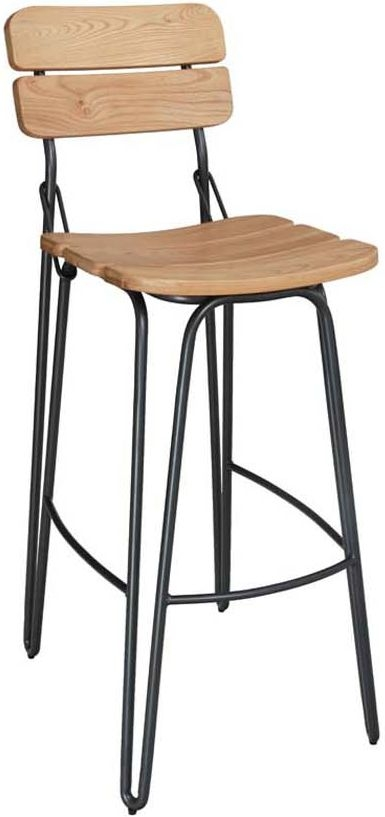 Vida Living Delta Natural Elm Bar Chair