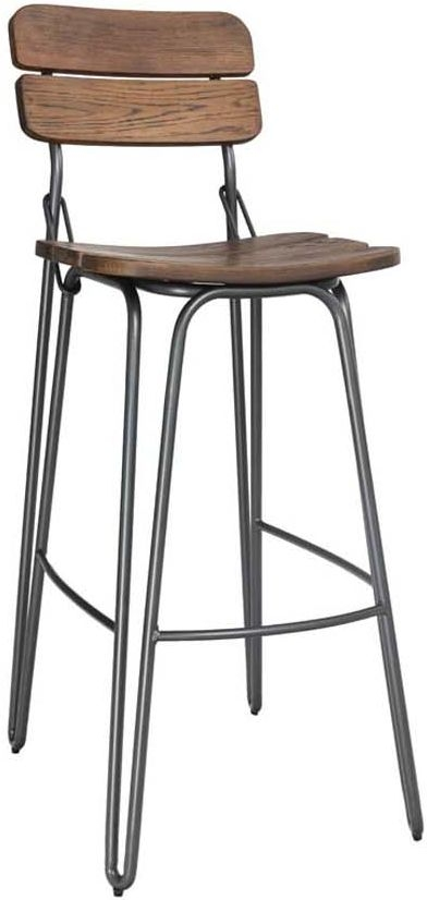 Vida Living Delta Rustic Bar Chair
