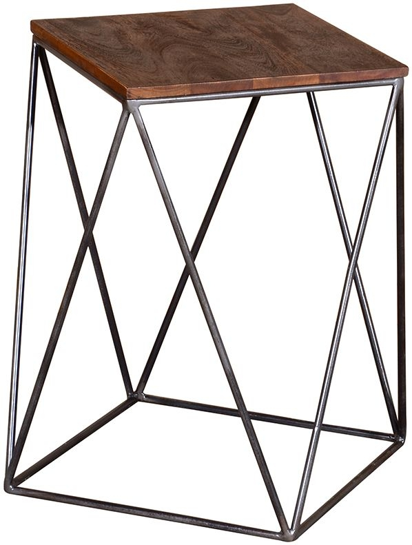 Vida Living Fes Natural Acacia Drink Table