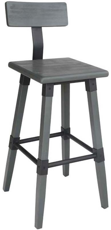 Vida Living Hunter Grey Bar Chair