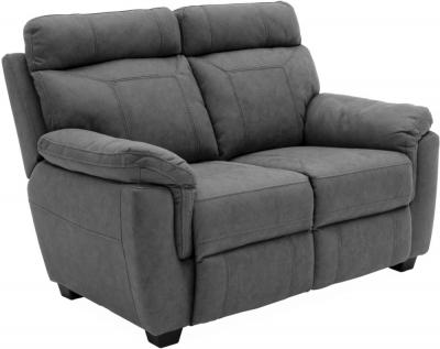 Vida Living Baxter Grey Fabric 2 Seater Sofa