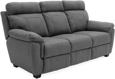 Vida Living Baxter Grey Fabric 3 Seater Sofa