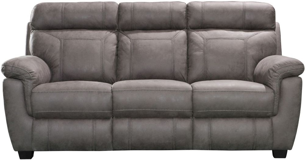 Vida Living Baxter Fabric 3 Seater Recliner Sofa