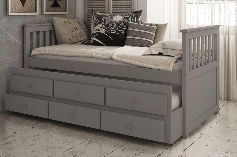 Vida Living Flos Grey Day Bed