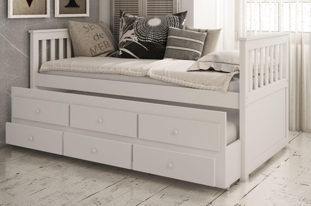 Vida Living Flos White Day Bed