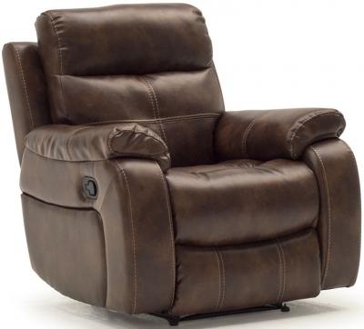 Vida Living Bellini 1 Seater Recliner - Banor Chestnut