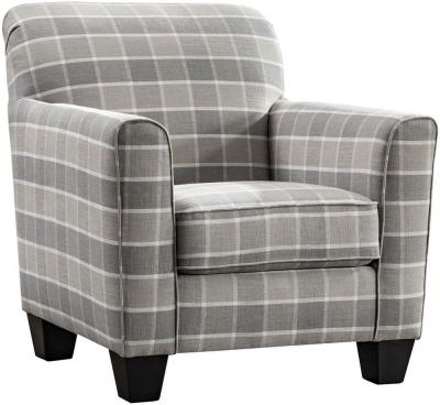 Vida Living Braemar Beige Fabric Accent Chair