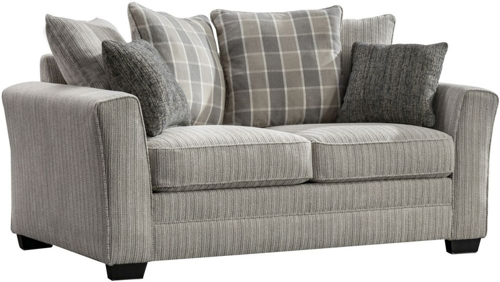 Vida Living Braemar Beige Fabric 2 Seater Sofa
