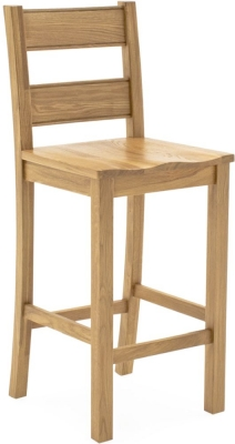 Vida Living Breeze Oak Bar Stool