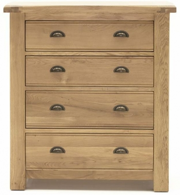 Vida Living Breeze Oak Chest of Drawer - 4 Drawer