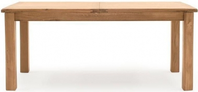 Vida Living Breeze Oak 140cm-180cm Extending Dining Table