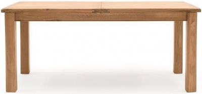 Vida Living Breeze Oak 180cm-240cm Extending Dining Table