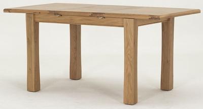 Vida Living Breeze Oak Dining Table - Small Extending