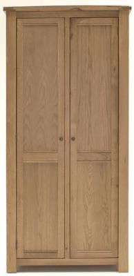 Vida Living Breeze Oak Wardrobe - 2 Door