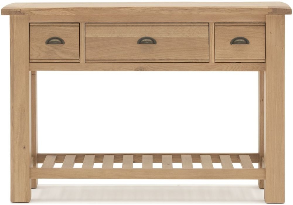Vida Living Breeze Oak Console Table