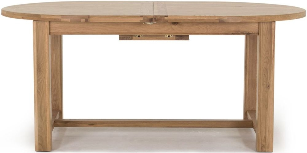 Vida Living Breeze Oak Dining Table - Oval Extending