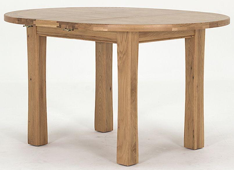 breeze oak vida living breeze oak dining table round extending