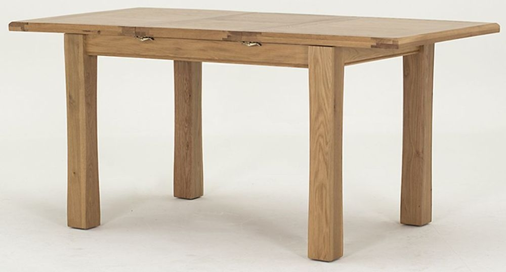 Vida Living Breeze Oak Dining Table - Small Extending