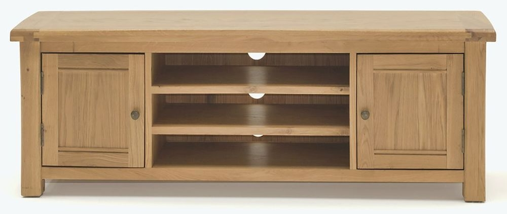 Vida Living Breeze Oak 2 Door TV Unit