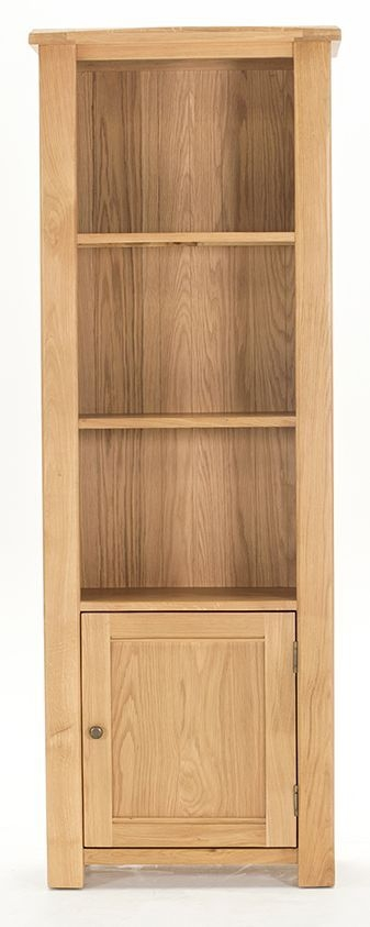 Vida Living Breeze Oak Bookcase - Tall 1 Door
