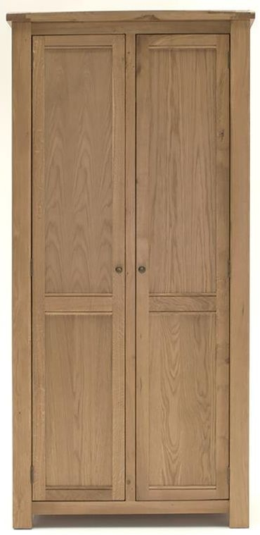 Vida Living Breeze Oak Double Wardrobe - 2 Door