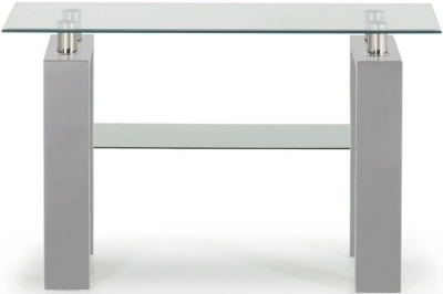 Vida Living Calico Grey Console Table