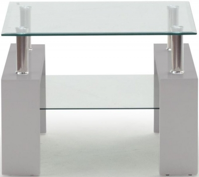 Vida Living Calico Grey End Table