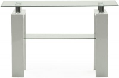 Vida Living Calico White Console Table