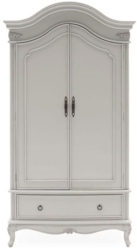 Vida Living Camille 2 Door Wardrobe - Grey
