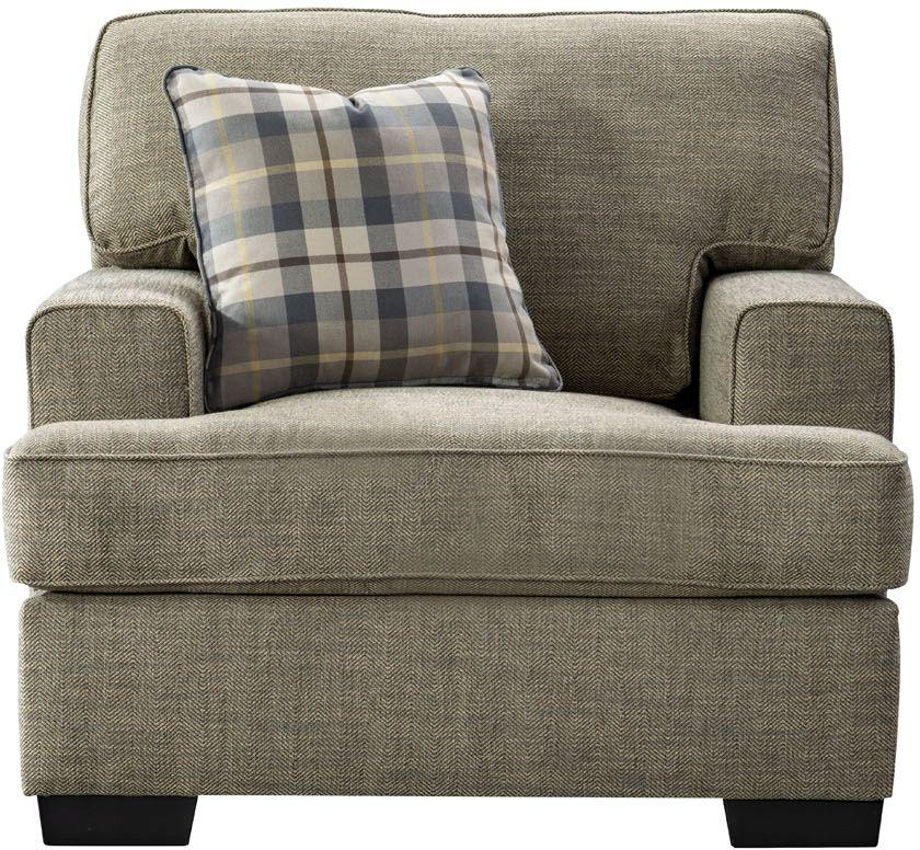 Vida Living Canterbury Beige Fabric Armchair