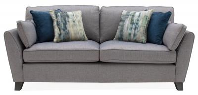 Vida Living Cantrell Grey Fabric Sofa