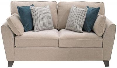 Vida Living Cantrell Almond Fabric 2 Seater Sofa