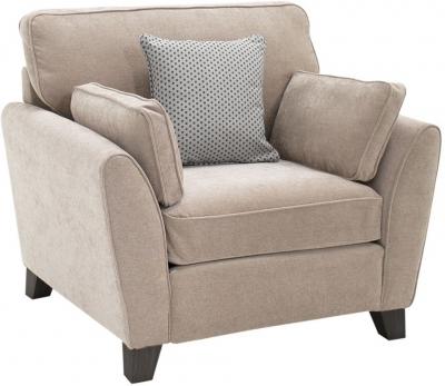 Vida Living Cantrell Almond Fabric Armchair