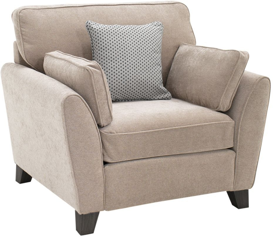 Vida Living Cantrell Almond Fabric Armchair