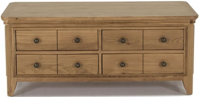 Vida Living Carmen Oak Coffee Table