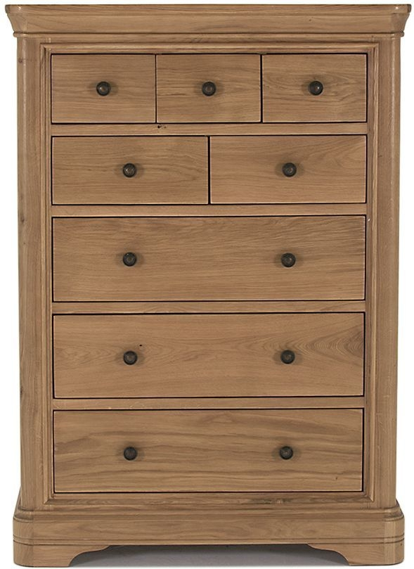 Vida Living Carmen Oak 8 Drawer Chest