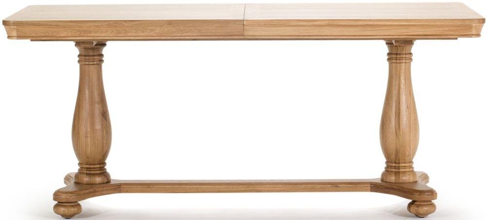 Vida Living Carmen Oak Dining Table - 180cm Extending