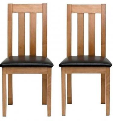 Vida Living Annecy Oak Dining Chair (Pair)
