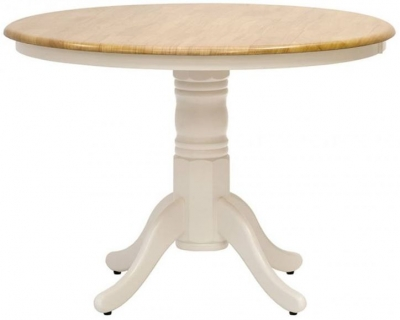 Vida Living Calais Painted Dining Table - Round