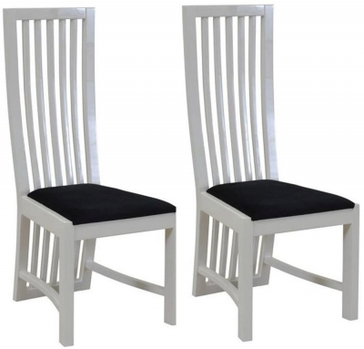 Vida Living Dolce White Dining Chair (Pair)
