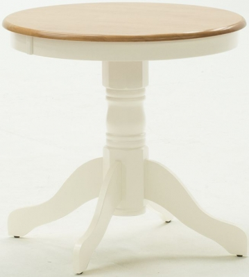 Vida Living Kinver 76cm Buttermilk Round Dining Table