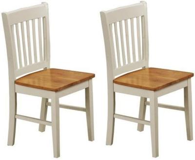 Vida Living Stacy Oak Dining Chair (Pair)