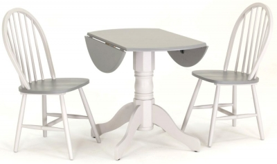 Vida Living Theo Painted Kinver Dining Set with 2 Dining Chairs