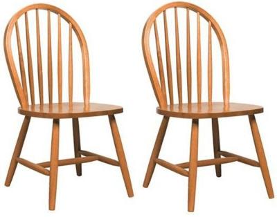 Vida Living Windsor Natural Dining Chair (Pair)