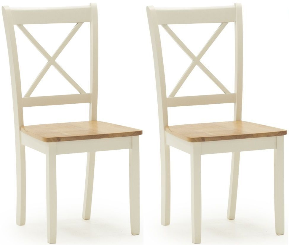 Vida Living Calais Painted Dining Chair (Pair)