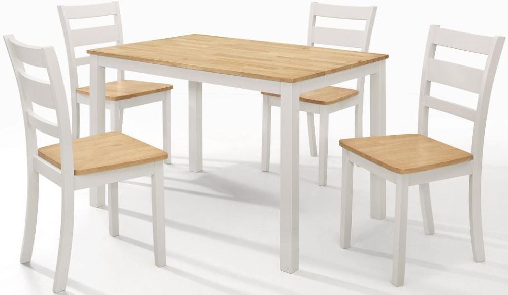 Vida Living Robin Dining Table - Oak and Grey Painted