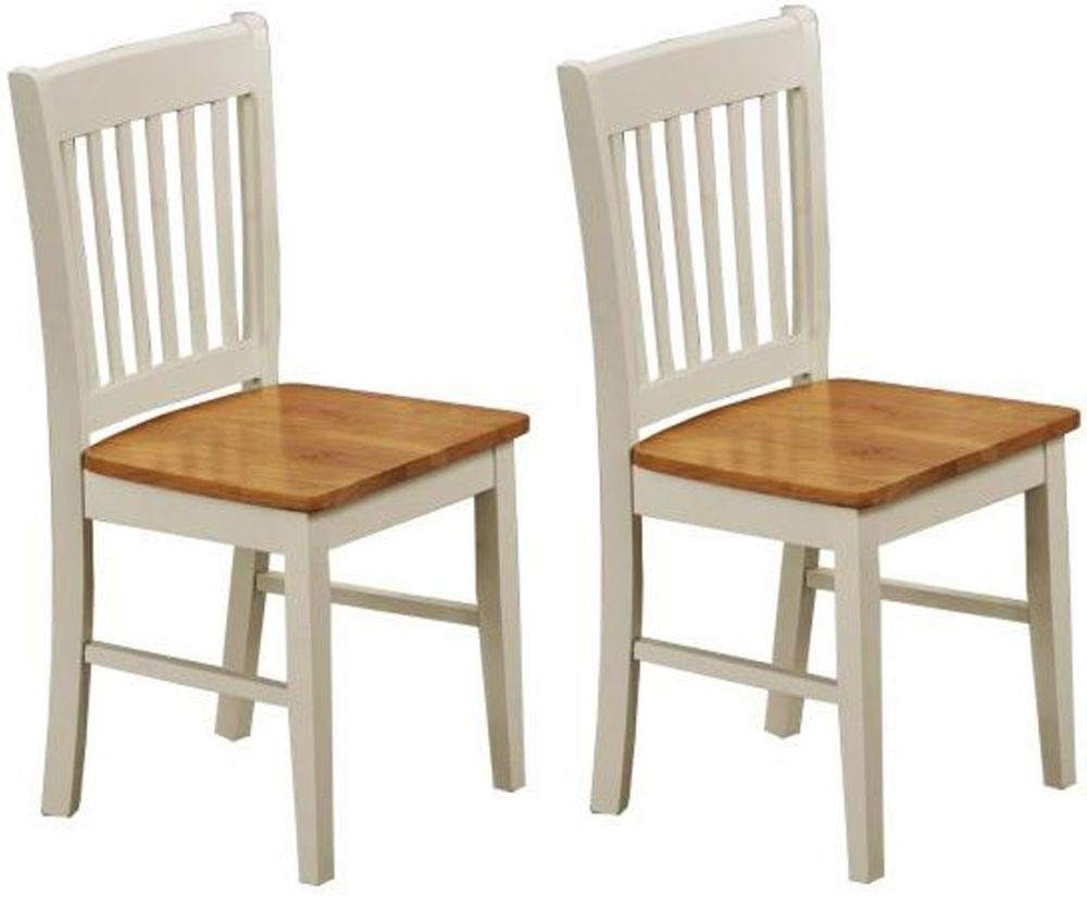 Vida Living Stacy Oak Dining Chair (Pair)