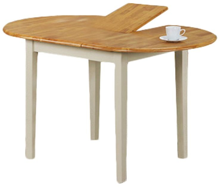 Vida Living Stacy Oak Extending Dining Table