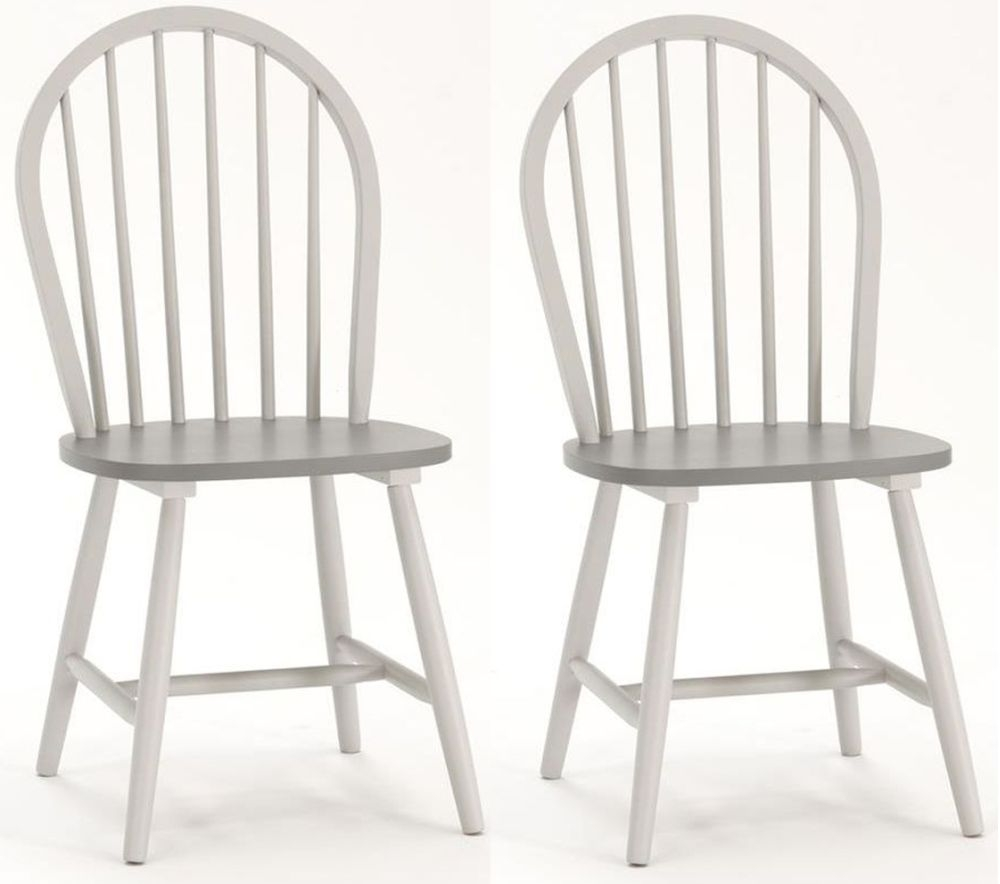 Vida Living Theo Windsor Painted Dining Chair (Pair)
