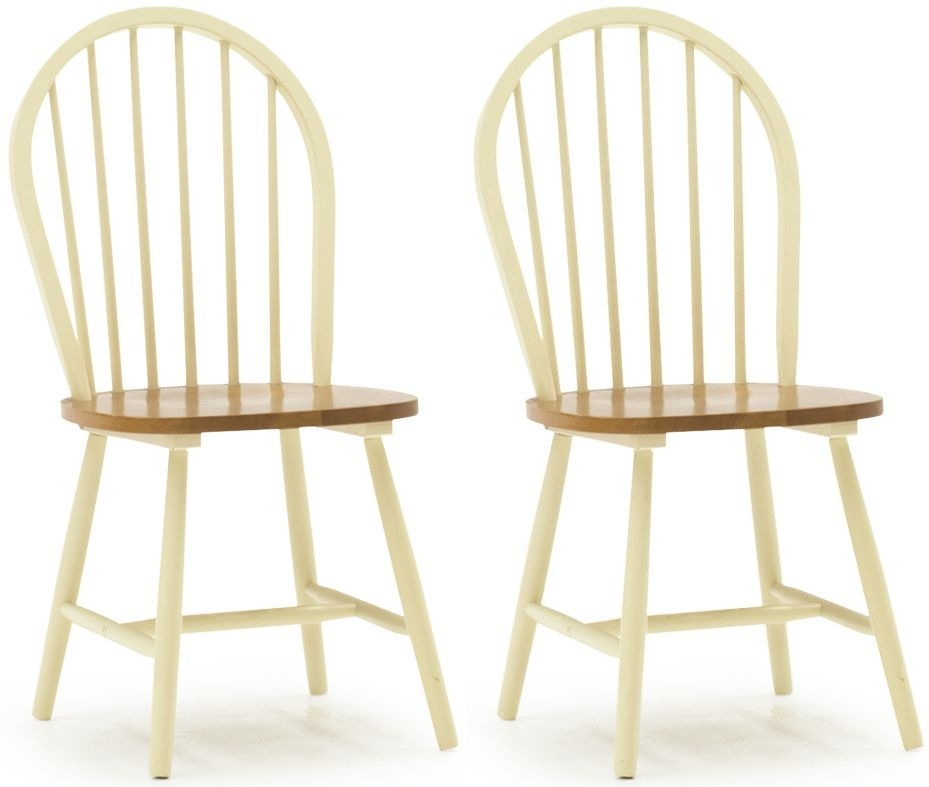 Vida Living Windsor Buttermilk Dining Chair (Pair)